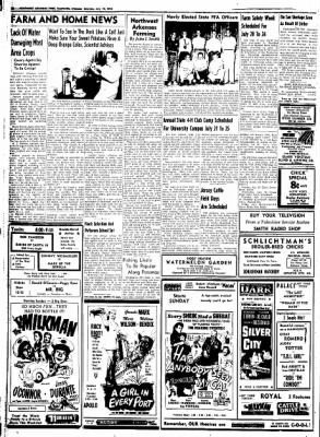 Northwest Arkansas Times from Fayetteville, Arkansas on July 12, 1952 · Page 10