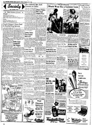 Northwest Arkansas Times from Fayetteville, Arkansas on July 17, 1952 · Page 2