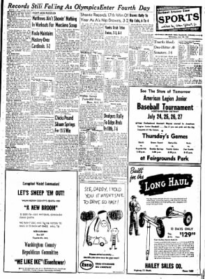 Northwest Arkansas Times from Fayetteville, Arkansas on July 23, 1952 · Page 9