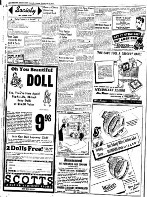 Northwest Arkansas Times from Fayetteville, Arkansas on July 31, 1952 · Page 2