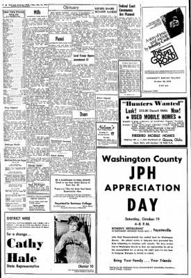 Northwest Arkansas Times from Fayetteville, Arkansas on October 18, 1974 · Page 2