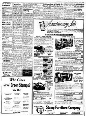 Northwest Arkansas Times from Fayetteville, Arkansas on August 12, 1952 · Page 3