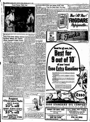 Northwest Arkansas Times from Fayetteville, Arkansas on August 27, 1952 · Page 6