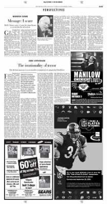 Pittsburgh Post-Gazette from Pittsburgh, Pennsylvania on September 10, 2004 · Page 23