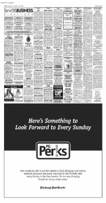 Pittsburgh Post-Gazette from Pittsburgh, Pennsylvania on October 24, 2004 · Page 86