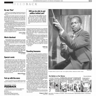 Pittsburgh Post-Gazette from Pittsburgh, Pennsylvania on November 5, 2004 · Page 96