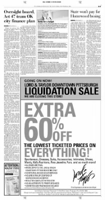 Pittsburgh Post-Gazette from Pittsburgh, Pennsylvania on November 6, 2004 · Page 9