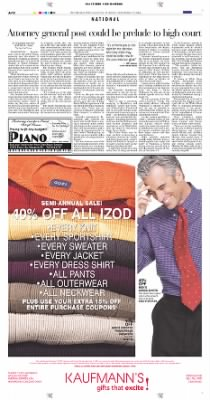 Pittsburgh Post-Gazette from Pittsburgh, Pennsylvania on November 12, 2004 · Page 12