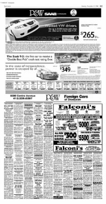 Pittsburgh Post-Gazette from Pittsburgh, Pennsylvania on November 13, 2004 · Page 45