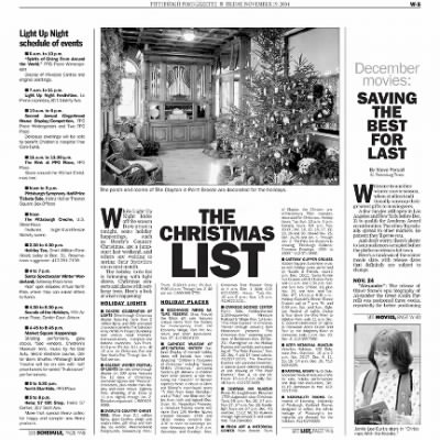 Pittsburgh Post-Gazette from Pittsburgh, Pennsylvania on November 19, 2004 · Page 67